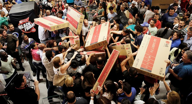 Black Friday has traditionally been notorious for in-store violence as customers battle for products. However, due to COVID-19 restrictions, this violence can be avoided.