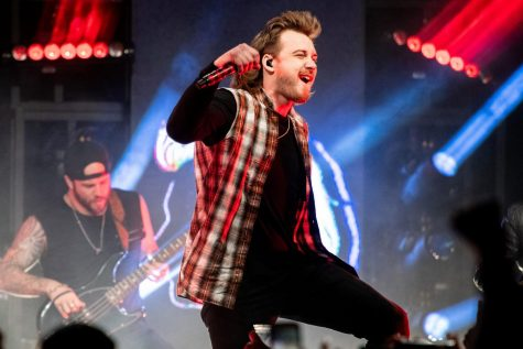 Country artist Morgan Wallen has gained a claim to fame as his new songs explode in popularity.
