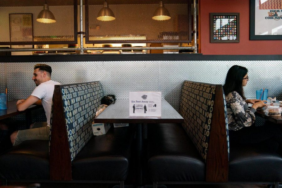 Indoor dining reopens in DuPage County at 25% capacity after months of restrictions.