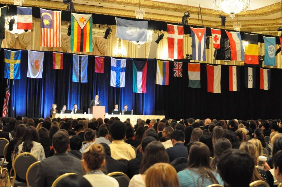 Many students from around the country anticipate participating in the ChoMUN event in early April.