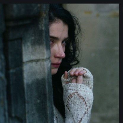 Adele, played by actress Eve Hewson, in one of the various flashbacks from the miniseries.