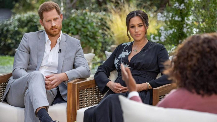 On March 7, Prince Harry and Duchess Meghan Markle interviewed with Oprah Winfrey to discuss why they moved from Britain.