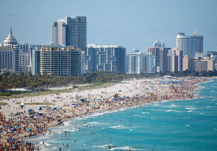 Over 1,000 spring breakers in Miami were arrested in one weekend.