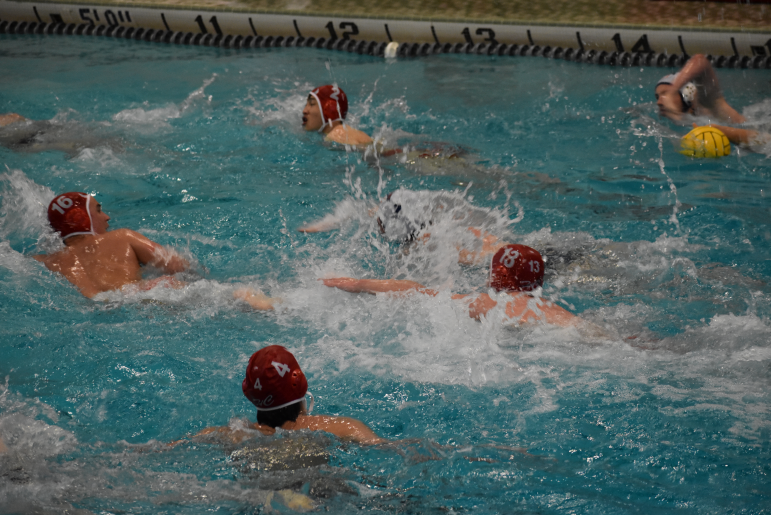 The next water polo game is on Saturday, April 24 against Matea Valley High School. You can check the athletics website for more information.