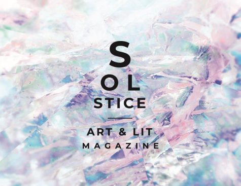 The Solstice magazine comes out every May; the cover featured here is from 2020.