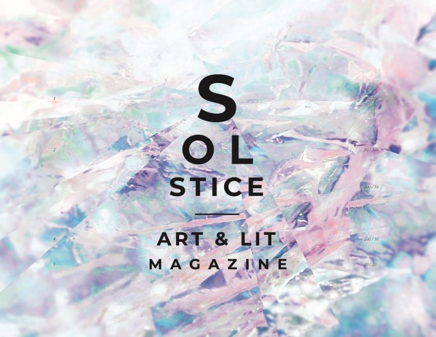 Last year's cover of Solstice.