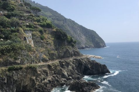 A view from the Cinque Terre Trail in Italy 2019.