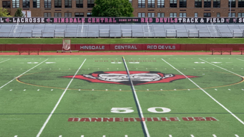 Hinsdale Central matched up against LT for the first time in their first full season since the COVID-19 Pandemic.