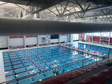 Hinsdale Central's Don Watson Aquatic Center was unveiled in August. The ten-lane pool was dedicated to Don Watson, a former Hinsdale Central swim coach who passed away in 2017.