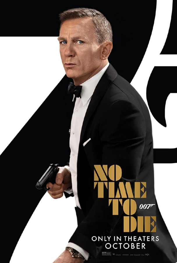 Daniel Craig releases his final movie as James Bond.