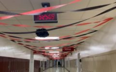 Varsity club decorated the school during the week leading up to the dance on Oct. 2.